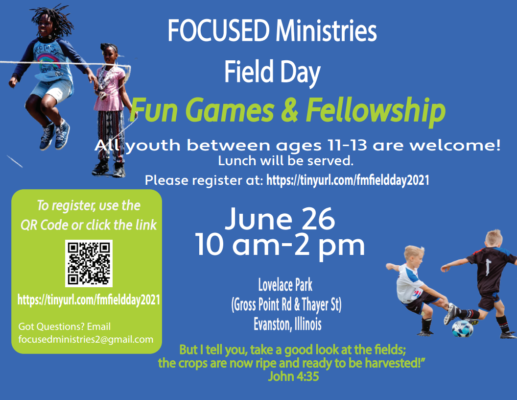 Focused Ministries Field Day 2021